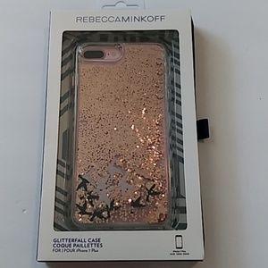 Rebecca Minkoff Birds GlitterFall iPhone 7 Plus